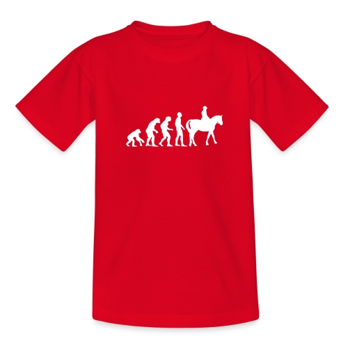 T-shirt ado : Evolution - T-shirt Ado