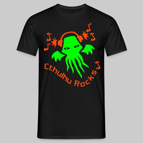 MTEngo: Cthulhu Rocks (2 farbig) - Men's T-Shirt
