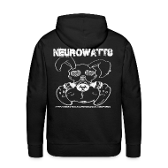 Sweat-shirts ~ Sweat-shirt à capuche Premium pour hommes ~ Neurowatts homme