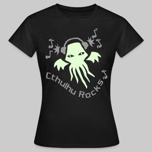 WTEdldk: Cthulhu Rocks (2 colours) - Women's T-Shirt