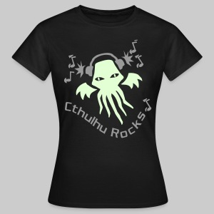 WTEdldk: Cthulhu Rocks (2 colours) - Women's T-Shirt