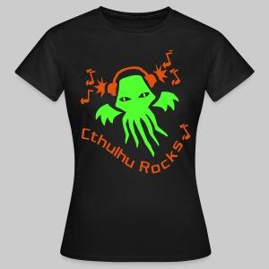 WTEngo: Cthulhu Rocks (2 colours) - Women's T-Shirt