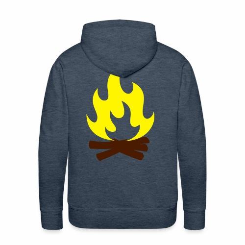 Feu de Camp - Sweat-shirt à capuche Premium pour hommes