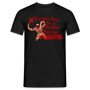 MOTHER F@#$IN M - Men's T-Shirt