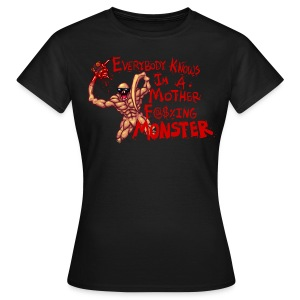 MOTHER F@#$IN F - Women's T-Shirt