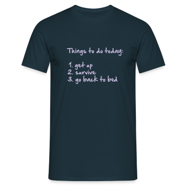 177_things_to_do_today T-Shirts