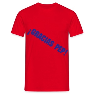 Men's T-Shirt - despedida pep guardiola camiseta gracias pep