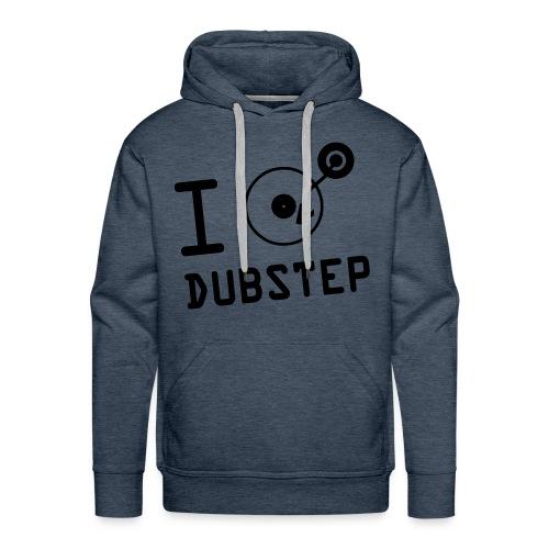 I Love Dubstep - Herre Premium hættetrøje