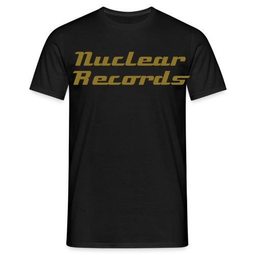 Mens Nuclear Records Tee - Men's T-Shirt