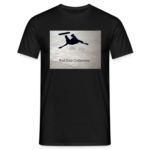 Art by the Collective Team - Street Shots Series, Shadow - Men's T-Shirt