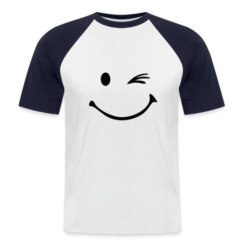 Oczko - Koszulka bejsbolowa męska