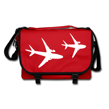 Airplanes Shoulder Bag