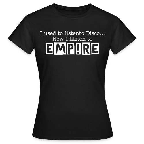 Womens EMPIRE T-Shirt - Black - Women's T-Shirt