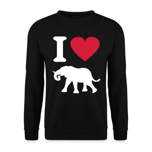 Elephant Love - Herre sweater