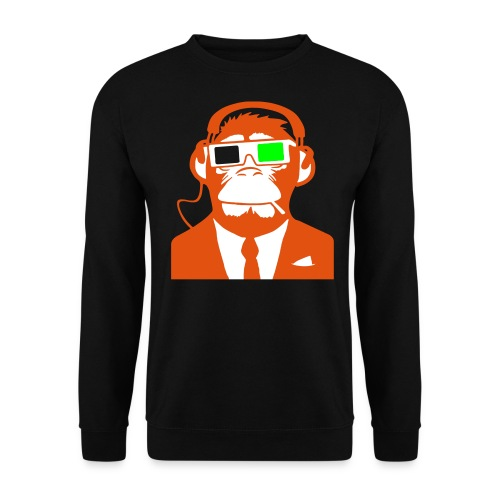 3D Monkey NEON - Herre sweater