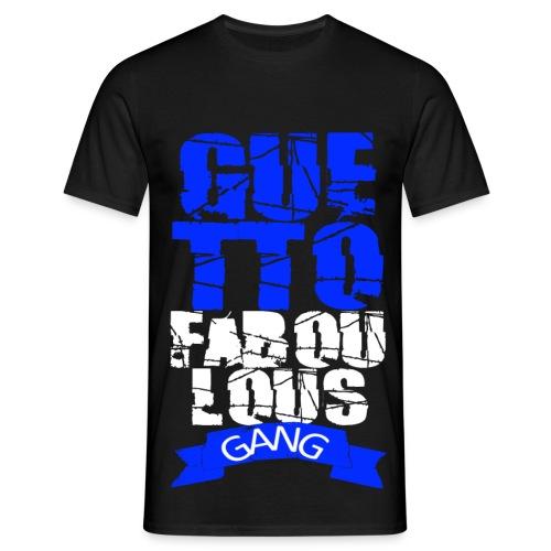 T shirt homme guetto faboulous gang - T-shirt Homme