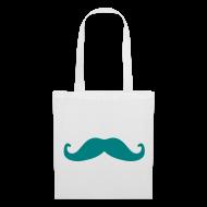 Borse & Zaini ~ Borsa di stoffa ~ Love Moustache Bag