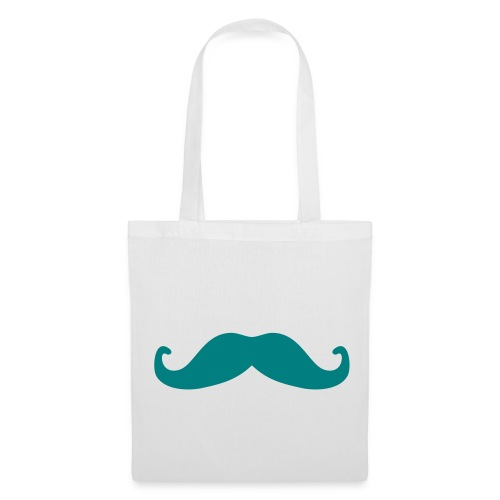 Love Moustache Bag - Borsa di stoffa