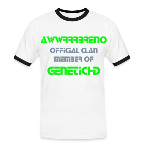 My own TShirt For Genetic Hd Designed By awwrrrBreno - Men's Ringer Shirt