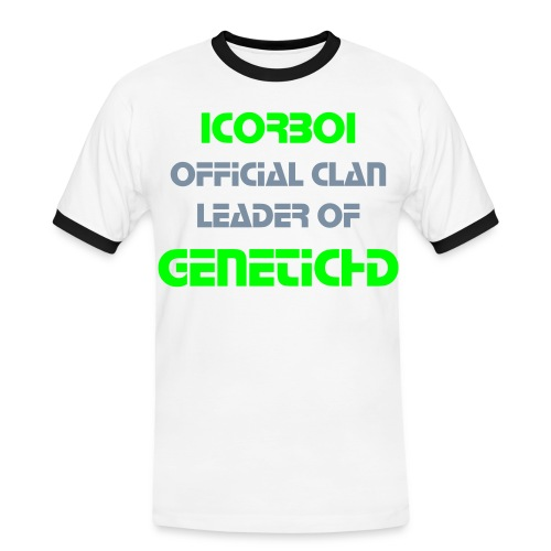 GeneticHD Clan Leader's T-shirt Designed by AwwrrrBreno  - Men's Ringer Shirt