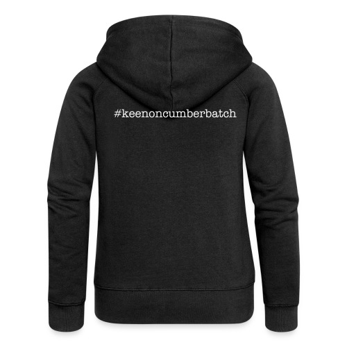 #keenoncumberbatch women's hoodie - Women's Premium Hooded Jacket