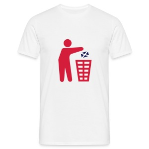 Keep Tidy - Scotland - Men's T-Shirt