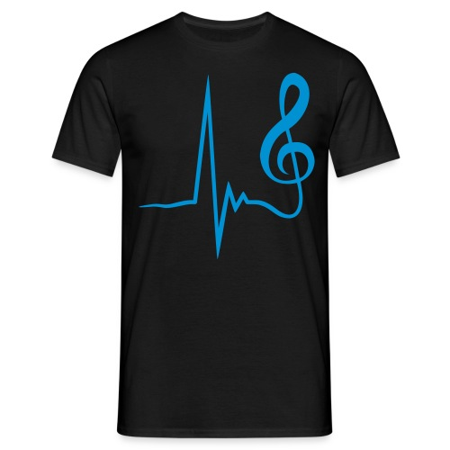 Music - Pulse - Männer T-Shirt