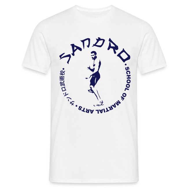Sandro - School of Martial Arts (White and Navy)