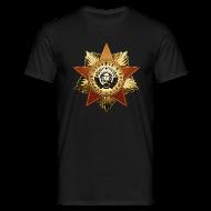 T-Shirts ~ Männer T-Shirt ~ Kosmonaut Orden - Erster Mensch im Weltall