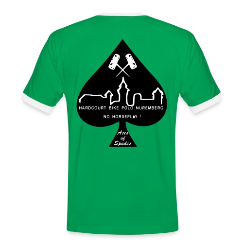 Aces Team free colour and name - Männer Kontrast-T-Shirt