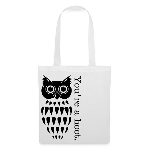 Owl 'You're a hoot' - Tote Bag - Various Colours - Tote Bag