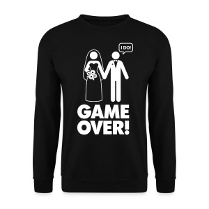 Mens 'GAME OVER' Sweatshirt - Men's Sweatshirt
