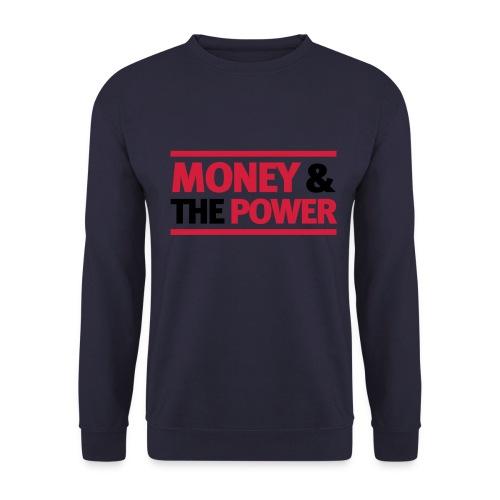 Mens 'MONEY& THE POWER' Sweatshirt - Men's Sweatshirt