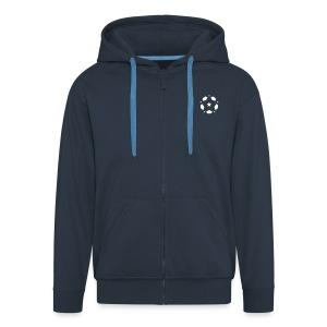 Spirit of Football Hoodie - Men's Premium Hooded Jacket