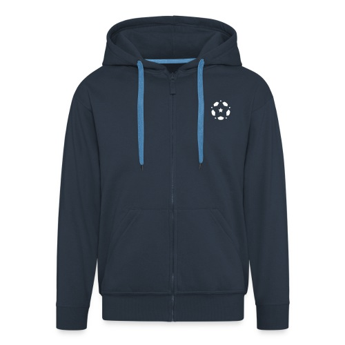 Spirit of Football Hoodie - Men's Premium Hooded Jacket