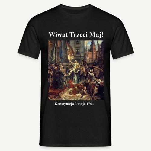 Wiwat trzeci maj! - Koszulka męska
