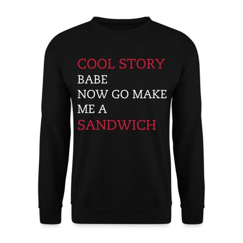 COOL STORY BABE - Herre sweater