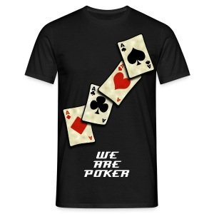 WE ARE POKER - T-shirt Homme