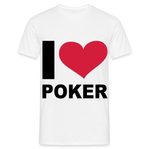 I LOVE POKER - T-shirt Homme