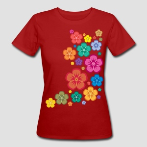 New Age Flower Power klimaneutral - Frauen Bio-T-Shirt