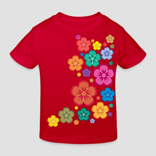 New Age Flower Power Kinder klimaneutral - Kinder Bio-T-Shirt