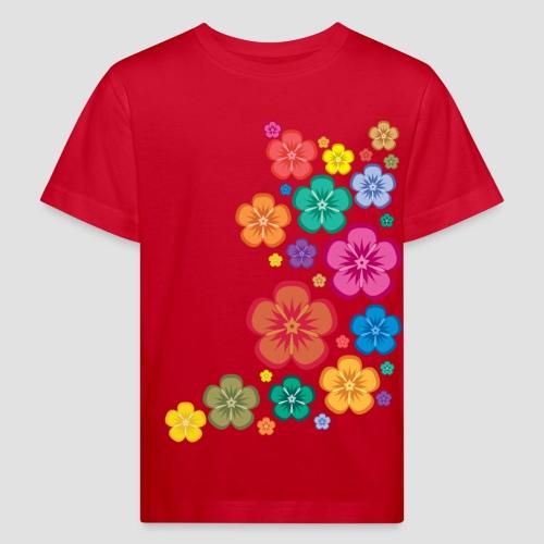 New Age Flower Power Kinder klimaneutral - Kinder Bio-T-Shirt