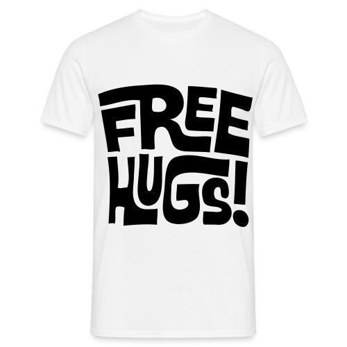 Free hugs - T-shirt Homme