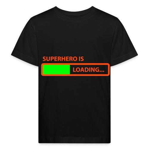 SuperHero Is Loading (kids) - Kinderen Bio-T-shirt
