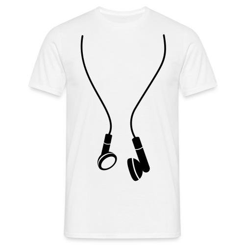 Ecouteurs - T-shirt Homme