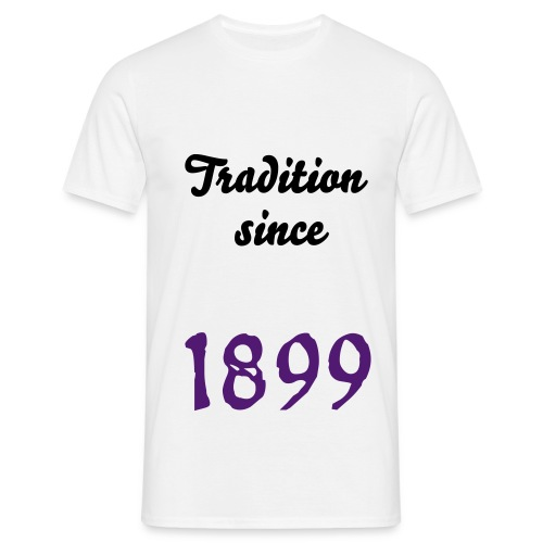 Tradition since 1899 - Männer T-Shirt