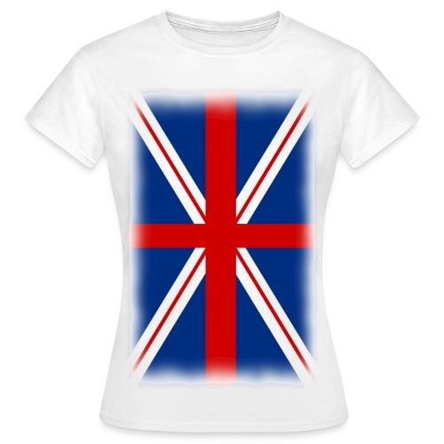 T shirt femme drapeau anglais - T-shirt Femme