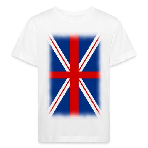 T shirt enfant drapeau anglais - T-shirt bio Enfant