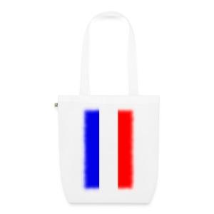 Sac drapeau français - Sac en tissu biologique