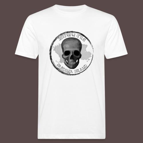 Sardegna, Wild Paradise - Teschio - T-shirt ecologica da uomo